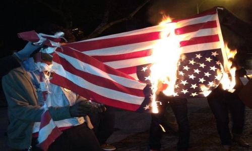 burningflag